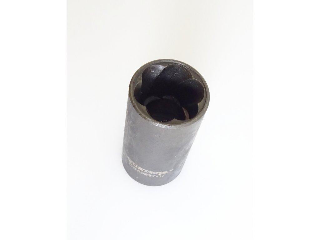 """Hlavice nástrčná na poškozené šrouby 1/2"""", 17 mm, úderová - QUATROS QS50927-17"""