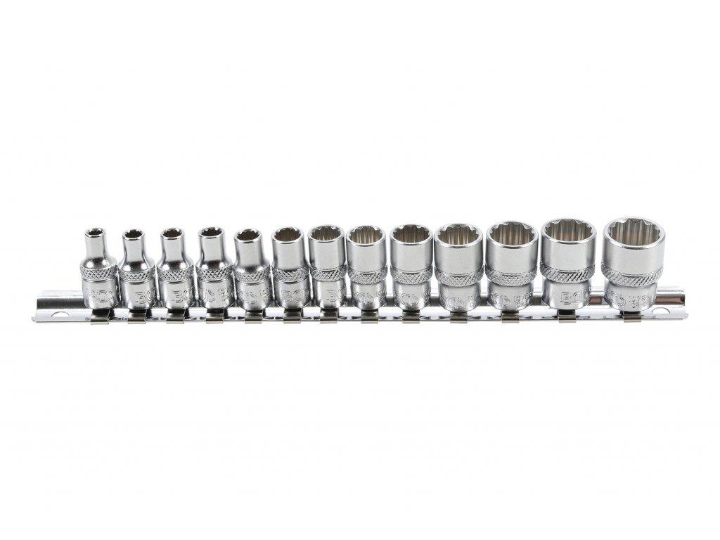 """Hlavice nástrčné 1/4"""", 4-14 mm, sada 13 dílů - BGS 2269"""