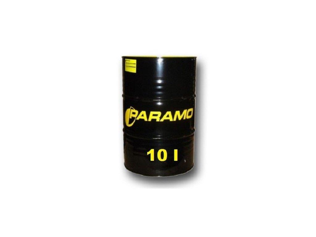 Hydraulický olej PARAMO pro zvedáky, objem 10 litrů