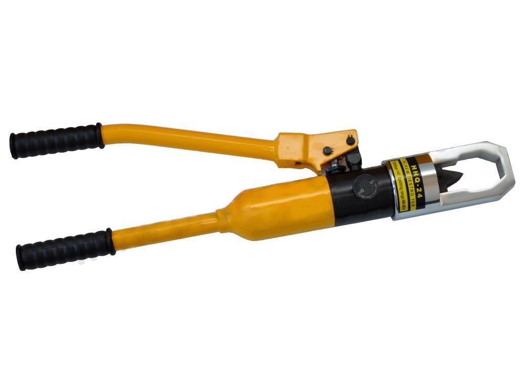 Hydraulický pákový přístroj na rozseknutí nepovolitelných matic 14t