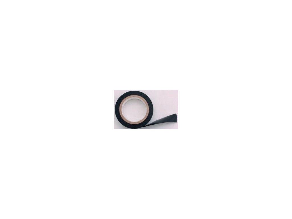 Izolační elektrikářská páska PVC 15mmx10m, černá