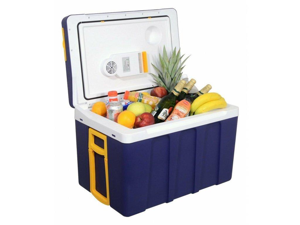 Chladící box do auta 230/12V, 50 litrů, pojízdný - COMPASS