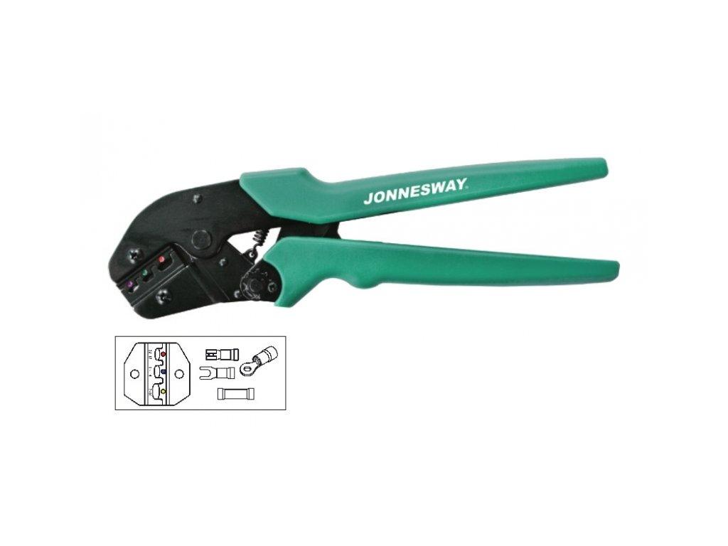 Kleště na krimpování elektrických konektorů 0.5 - 6 mm - JONNESWAY V1311A