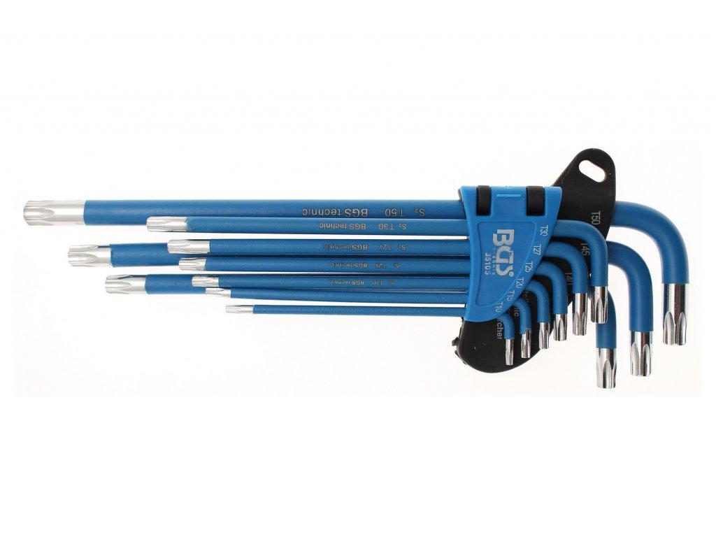 Klíče pro T-profil 9ks - BGS 35105
