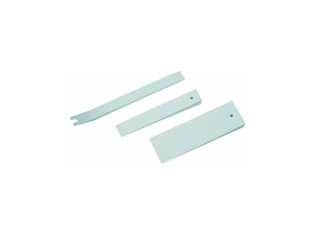 Klíny na demontáž čalounění, šířka 22, 30 a 60 mm, plastové, sada 3 ks - ASTA