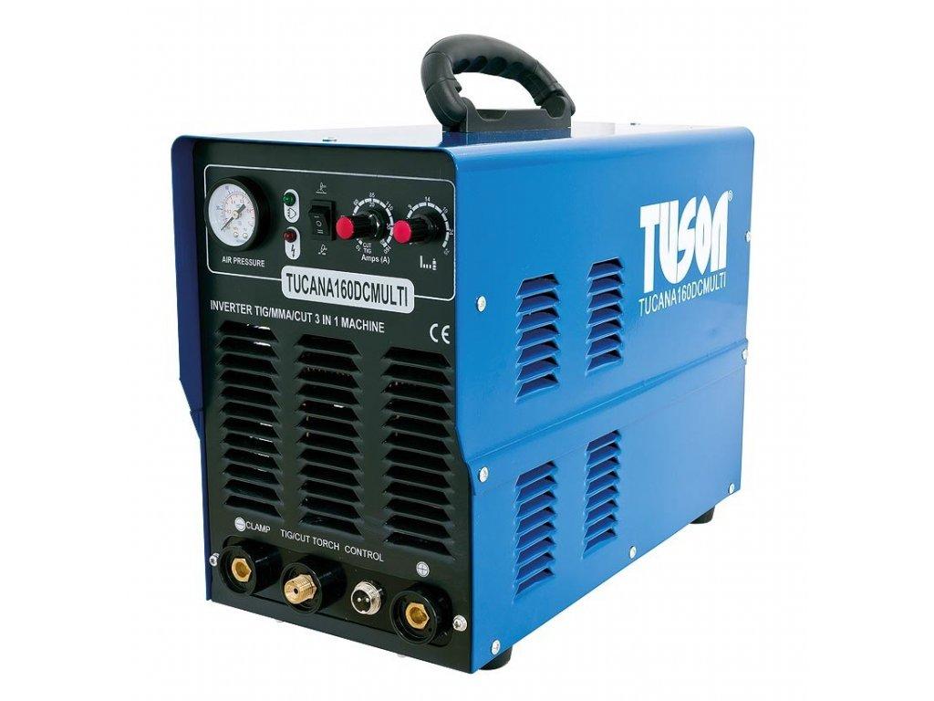 Kombinovaná svářečka a plazmová řezačka TIG/MMA TUCANA 160 DC MULTI - TUSON SV160-T