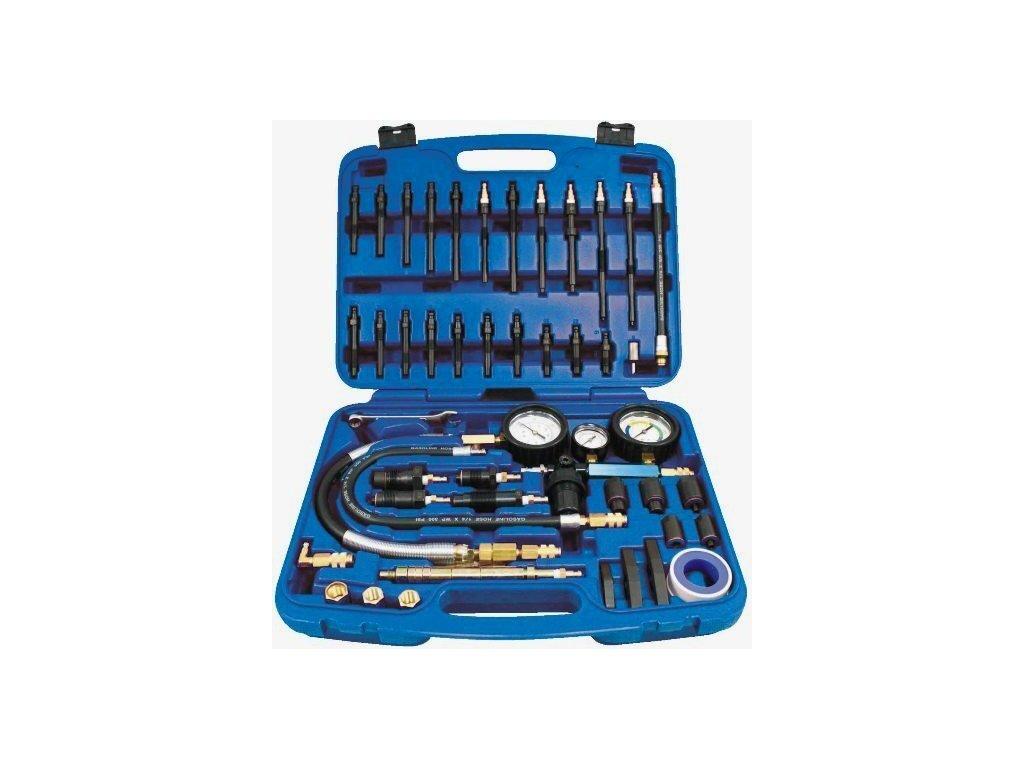 Kompresiometr - tester komprese univerzální, benzin a diesel - ASTA