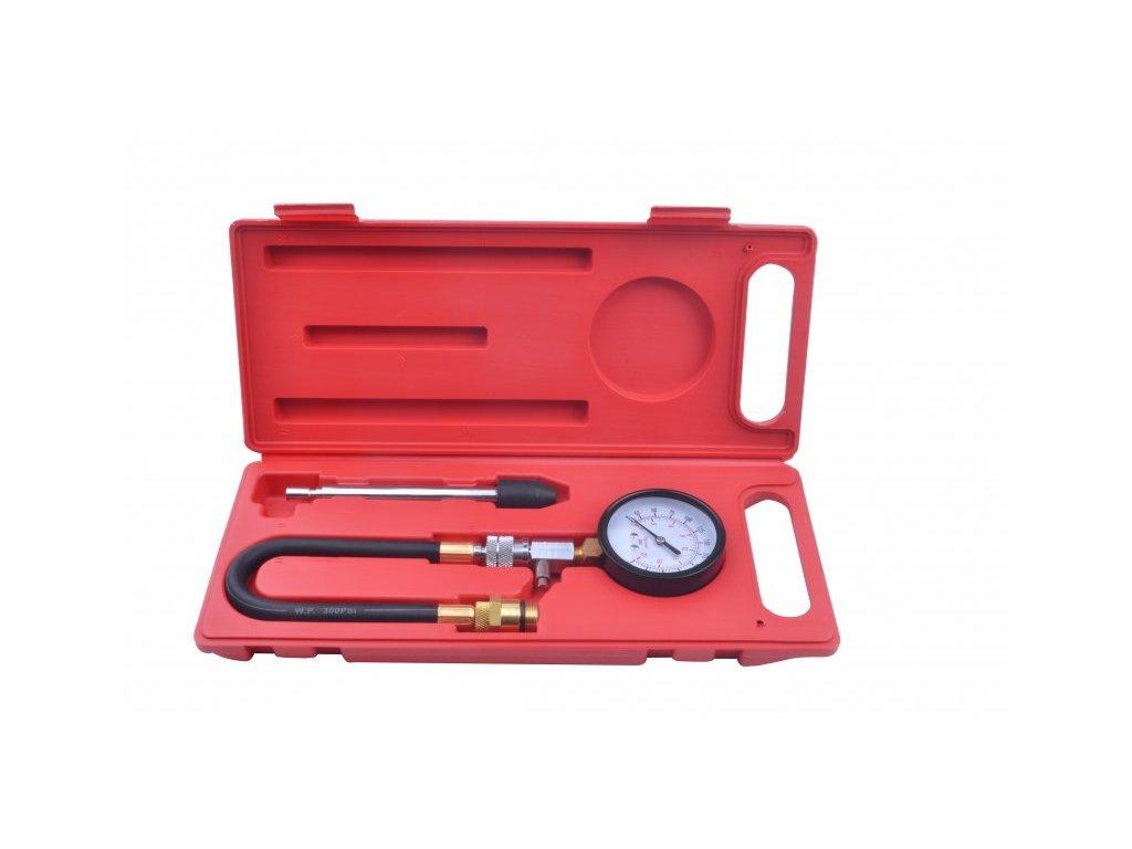 Kompresiometr pro benzinové motory, sada 4 dílů - QUATROS QS30191