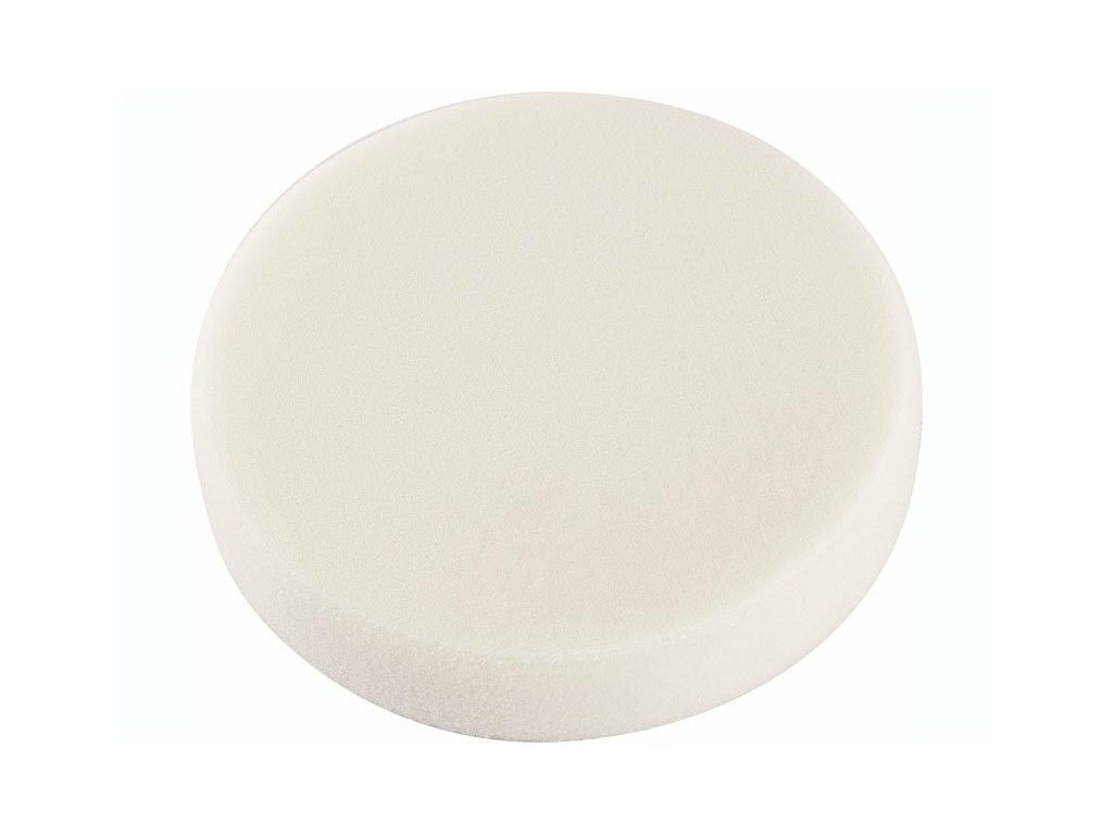 Kotouč lešticí pěnový T20 bílý, 150 x 30 mm, suchý zip - EXTOL PREMIUM EX8803542