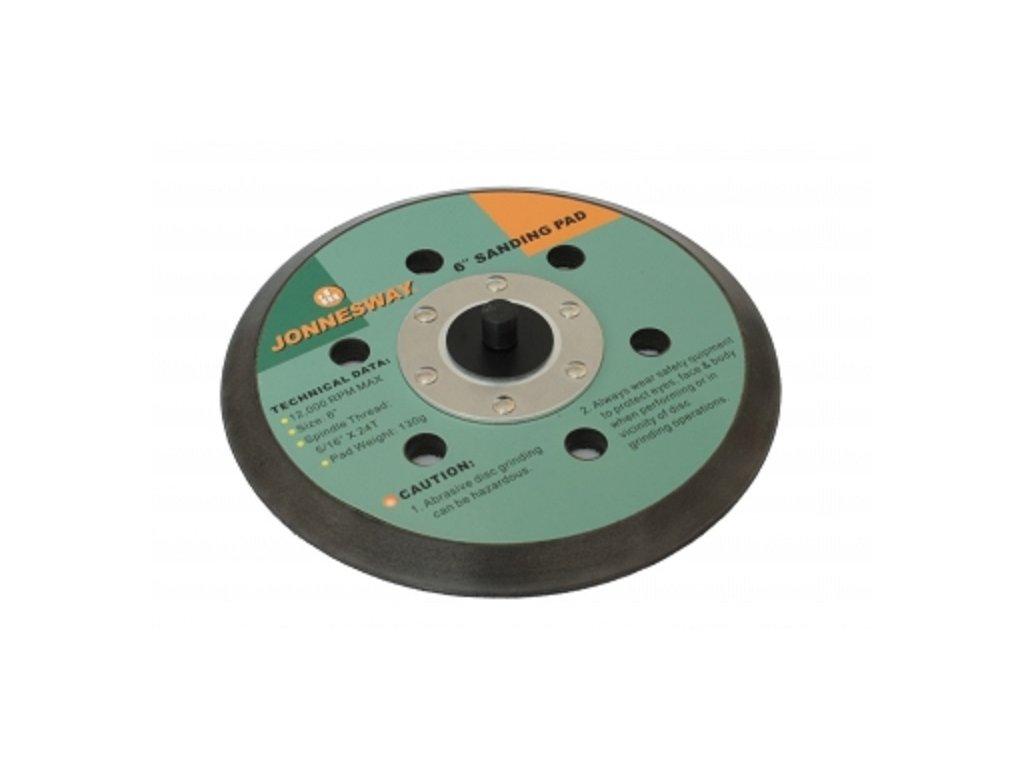 Unašeč na pneumatickou brusku a leštičku, s odsáváním, pro JAS-1020-6HE a JAS-1021-6HE