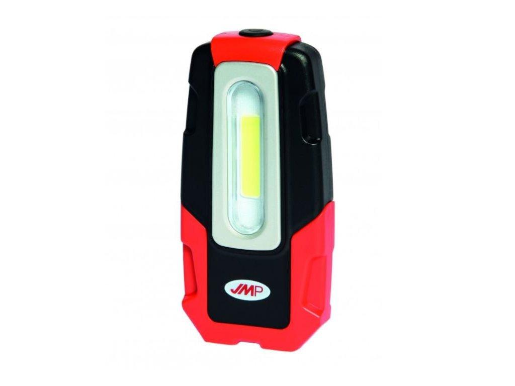 Lampa dílenská montážní LED COB-SMD 2W, nabíjecí micro USB, s háčkem a magnety