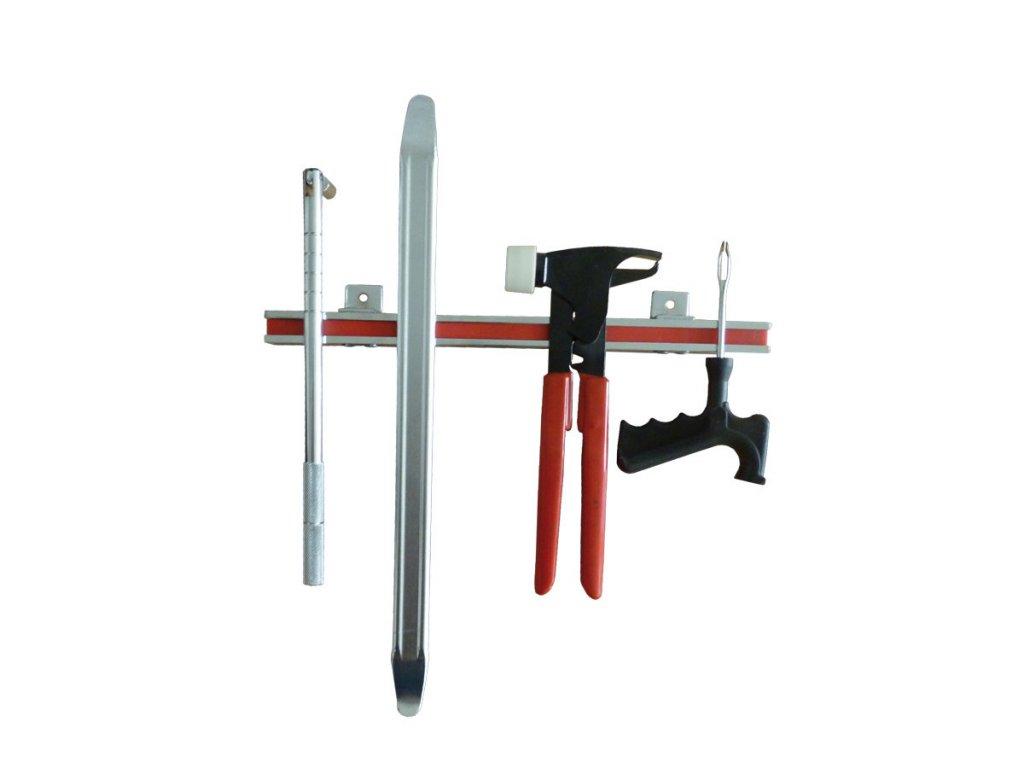 Magnetická lišta, držák nářadí 330 mm se silným magnetem