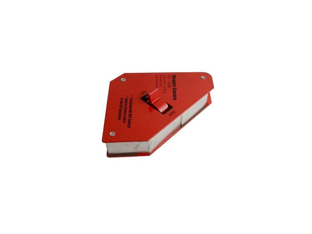 Magnetický úhelník s vypínačem, pro svařování