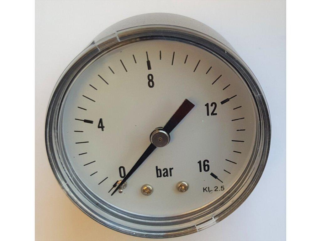 """Manometr 0 - 16 bar, zadní výstup 1/8"""""""