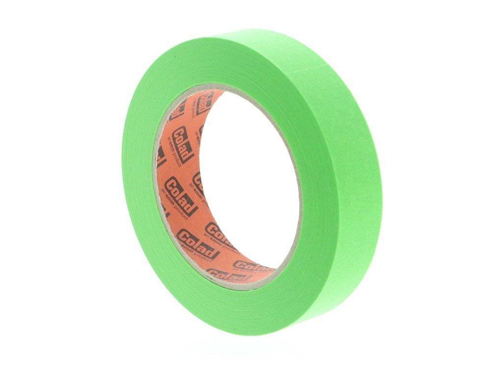 Maskovací páska lakýrnická Aqua Dynamic, 25 mm x 50 m, odolná vysokým teplotám - COLAD