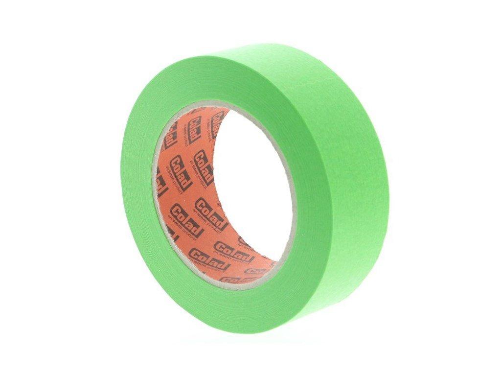 Maskovací páska lakýrnická Aqua Dynamic, 38 mm x 50 m, odolná vysokým teplotám - COLAD