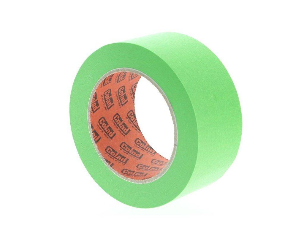 Maskovací páska lakýrnická Aqua Dynamic, 50 mm x 50 m, odolná vysokým teplotám - COLAD