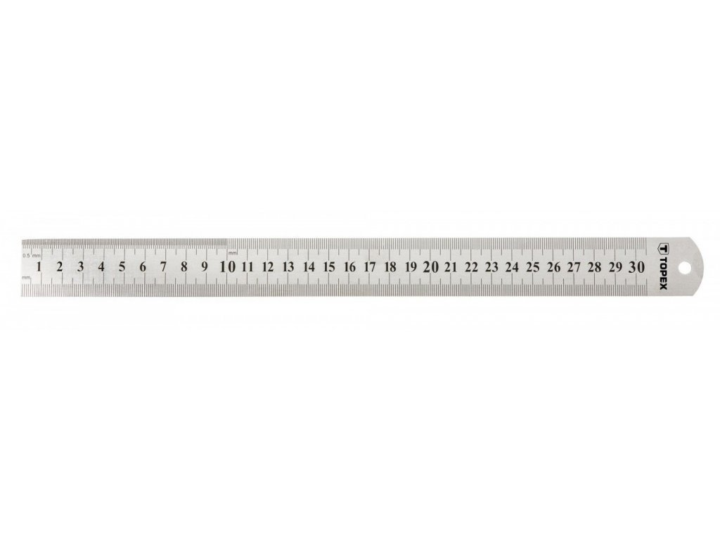 Měřítko lineární, pravítko, délka 300 mm