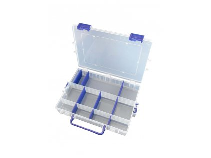 Organizér plastový 285 x 212 x 47 mm, nastavitelné přihrádky - MAGG 120187