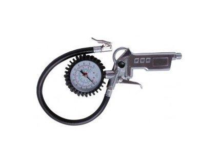 Pistole foukací, pneuhustič s manometrem a hadicí