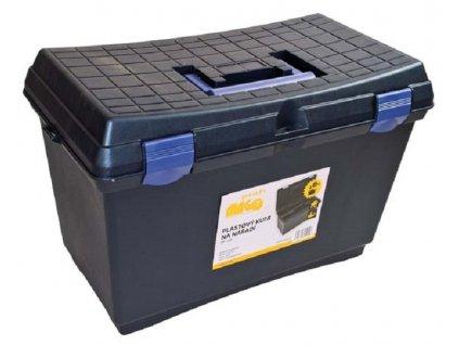Plastový kufr na nářadí 515 x 287 x 338 mm, nosnost 120 kg - MAGG PP159