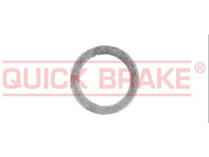 Podložka, těsnění pod matici, vnitřní průměr 12 mm, hliníková, pro opravu brzd