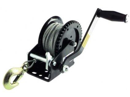 Ruční naviják 550 kg 5mm x 15m s hákem-MAGG CTR550
