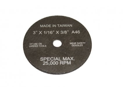 Řezací kotouč 80 x 1,5 mm - JONNESWAY JAT-6421-33