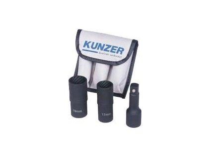 Sada 3ks na povolení pojistných šroubů kol 17,19 mm Kunzer