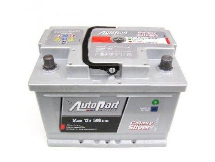 Autobaterie Galaxy Silver 55 Ah 12V, 242x175x175 mm