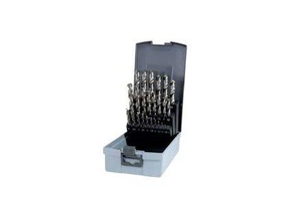 Sada vybrušovaných vrtáků do kovu HSS-G 25dílů RUKO RU214215RO