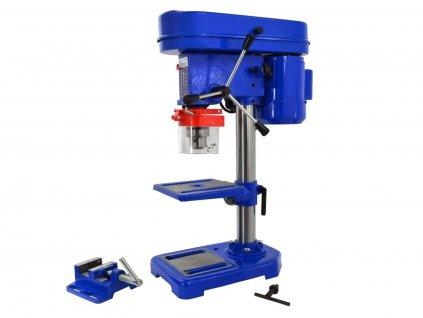 Sloupová, stojanová vrtačka stolní, 3 - 16 mm, 250W, se svěrákem