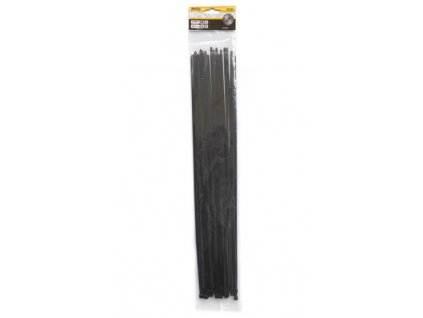 Stahovací pásky 4,8x500mm černé/25ks