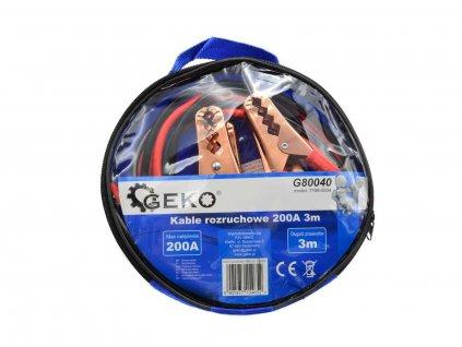 Startovací kabely 200A, délka 3 metry