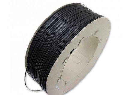 Svářecí drát, plast PE tvrdý 5mm, trojúhelník, černý
