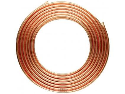 Brzdové potrubí měděné 4,75mm, délka 10m