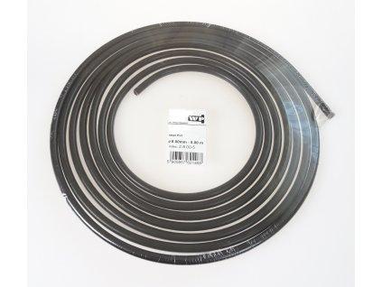 Brzdové potrubí ocelové 8 mm, délka 5 m