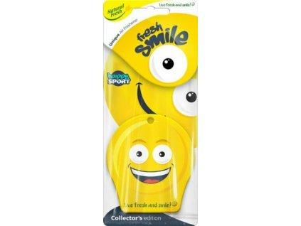 Vůně do auta Fresh Smile Happy Sport