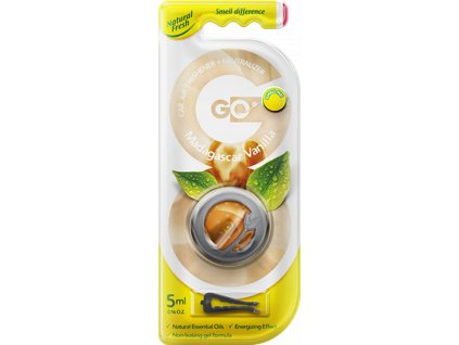 Vůně do auta Go Gel Madagascar Vanilla 5 ml