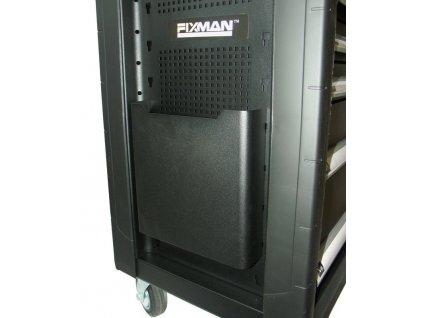 Závěsný držák na dokumenty k dílenskému vozíku, 265 x 250 x 71 mm - Fixman