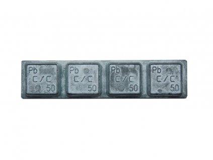 Samolepicí závaží TRUCK Pb 4 x 50g (200 g)