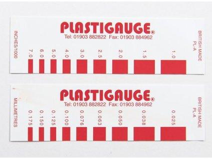 Plastigage-měření tolerance ložisek (různé velikosti)