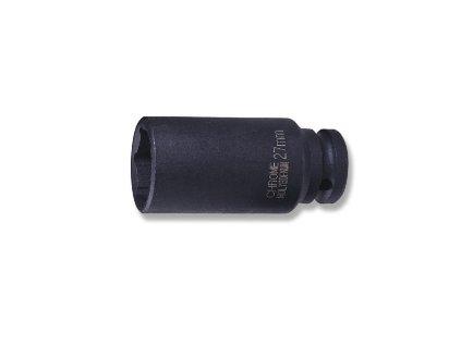 """Nástrčné hlavice úderové, prodloužené, 1/2"""", 6-hranné, velikosti 8-36 mm - JONNESWAY"""