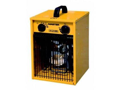 Dílenské topidlo elektrické - přímotop, přenosné, 3,3 kW, napětí 230V - MASTER B3,3EPB