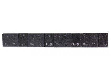 Samolepící závaží 4x5 g a 4x10 g, černý lak