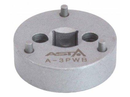 Adaptér na zatlačení brzdových pístků, 3 piny, pro VAG, Renault, Volvo - ASTA