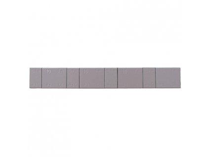 Samolepící závaží 4x5g + 4x10g, pásek 60g, šedý lak