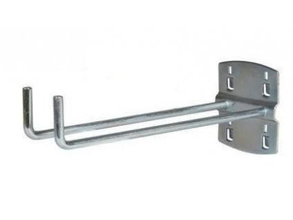 Háček na nářadí dvojitý, 150 mm - Procarosa