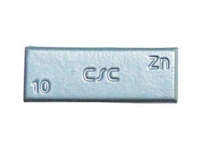 Závaží samolepící zinkové ZNC, šedý lak, různé hmotnosti