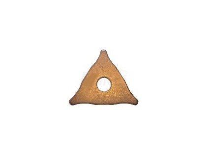 Navařovací ocelové vytahovací poměděné hvězdice GYS 052239 sada 20ks